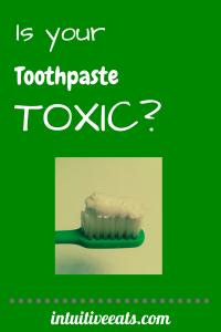 Toothpaste Toxic Art
